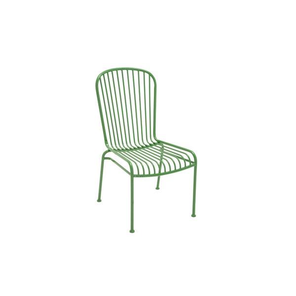 Shop Metal Green Patio Chair Free Shipping Today