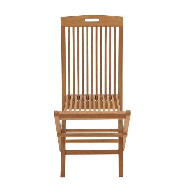 Teak Patio Folding Chair Free Shipping Today Overstock