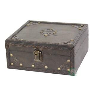 Small Pirate Style Treasure Chest - Black
