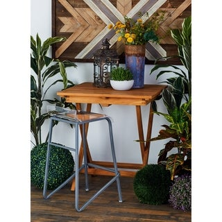 Outdoor Square Teak Folding Table