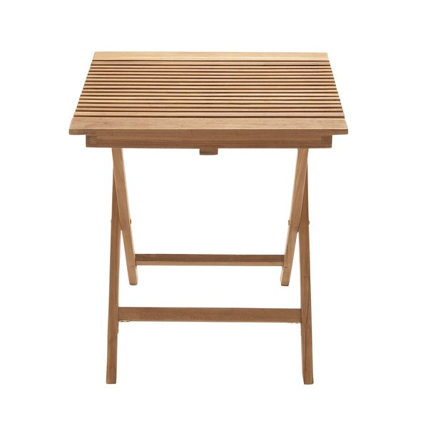 Outdoor Square Teak Folding Table