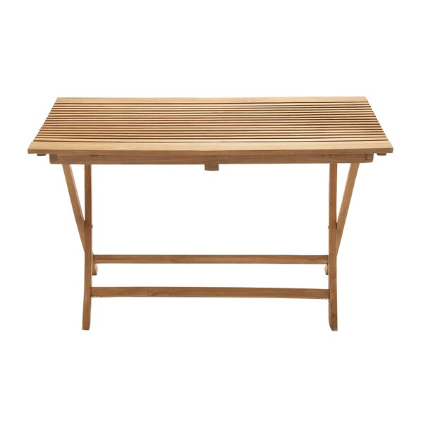 Large Teak Wood Folding Table - Free Shipping Today - Overstock.com - 16863400