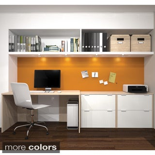 i3 by Bestar Desk and Storage Executive Kit