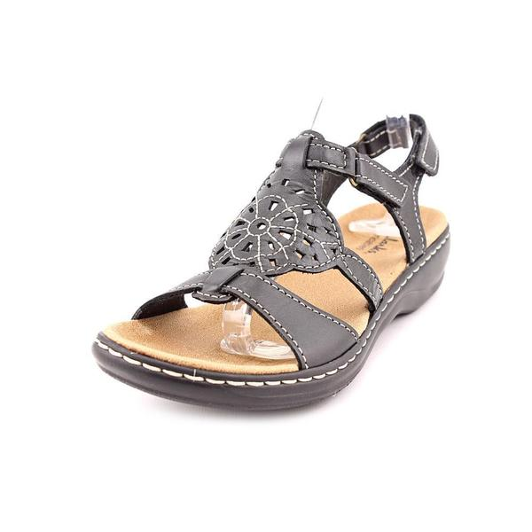 4fbab2f414dbd Shop Clarks Women's 'Leisa Taffy' Leather Sandals - Free Shipping ...