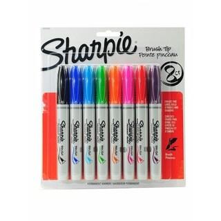 Sharpie Brush Tip Permanent Assorted Marker Sets