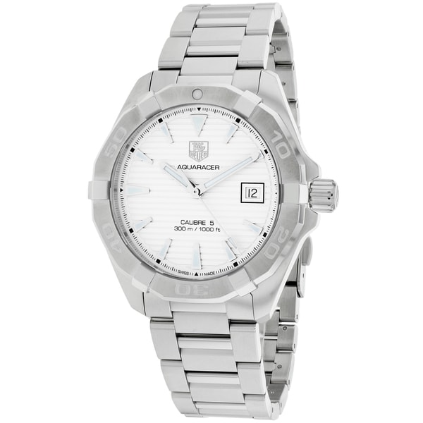 Tag Heuer Aquaracer White Face