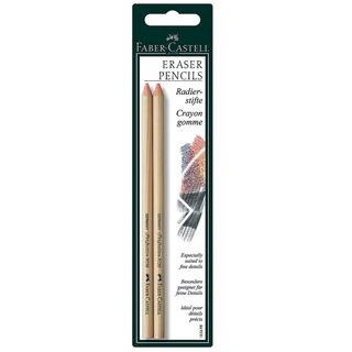 Faber-Castell Perfection Eraser Pencils (Pack of 4).