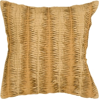 Lola Down- or Poly-filled Decorative Pillow (Polyester - Gold)