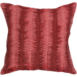 Lola Down- or Poly-filled Decorative Pillow (Polyester - Red)