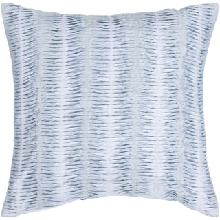 Lola Down- or Poly-filled Decorative Pillow (Polyester - Light Blue)