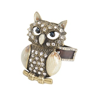 Owl Napkin Ring - (Set of 4)