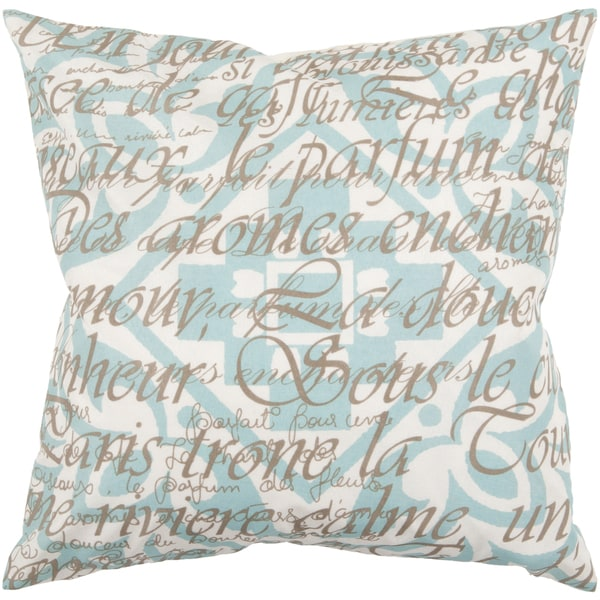 Lyne Down- or Poly-filled Decorative Pillow
