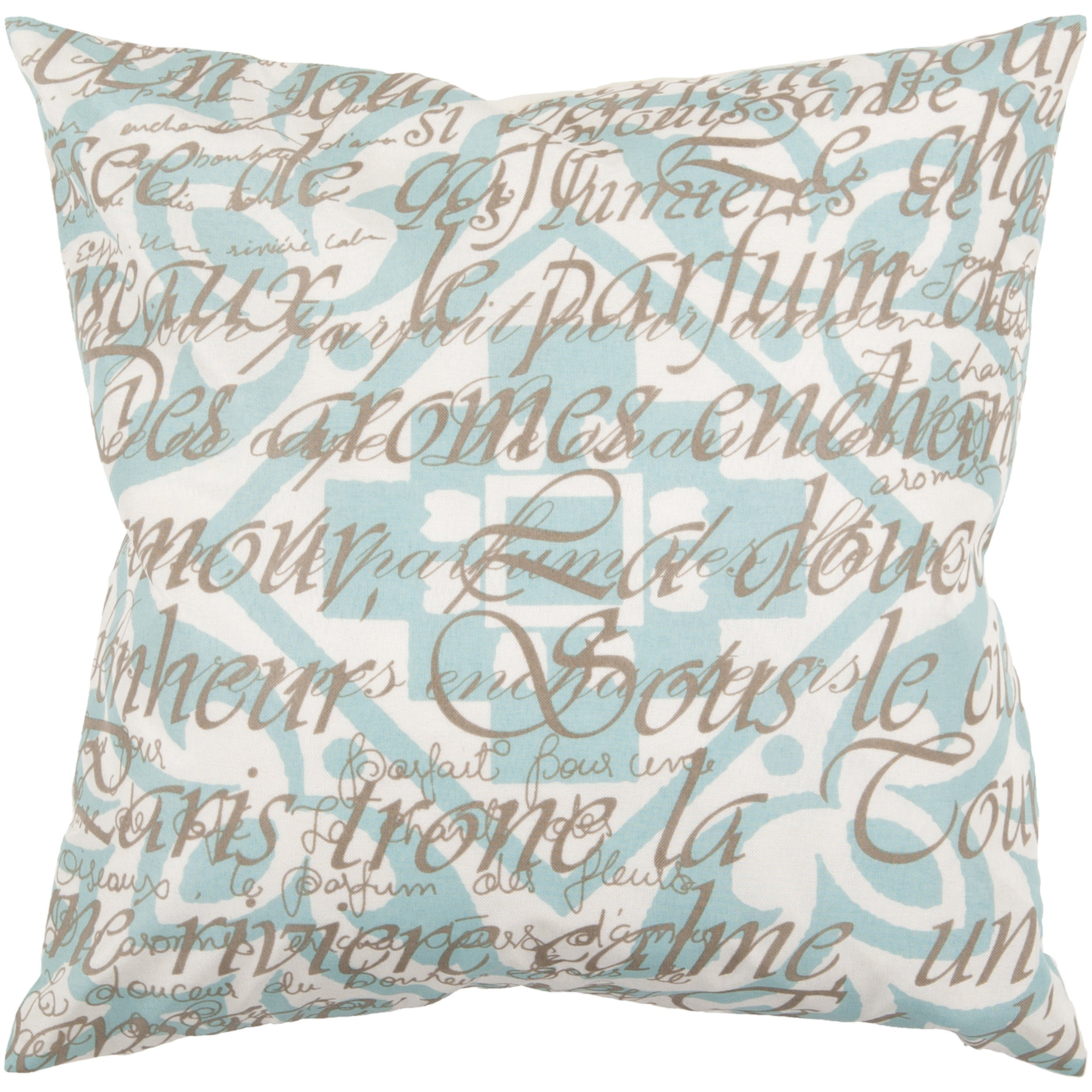 Lyne Down- or Poly-filled Decorative Pillow (Down)