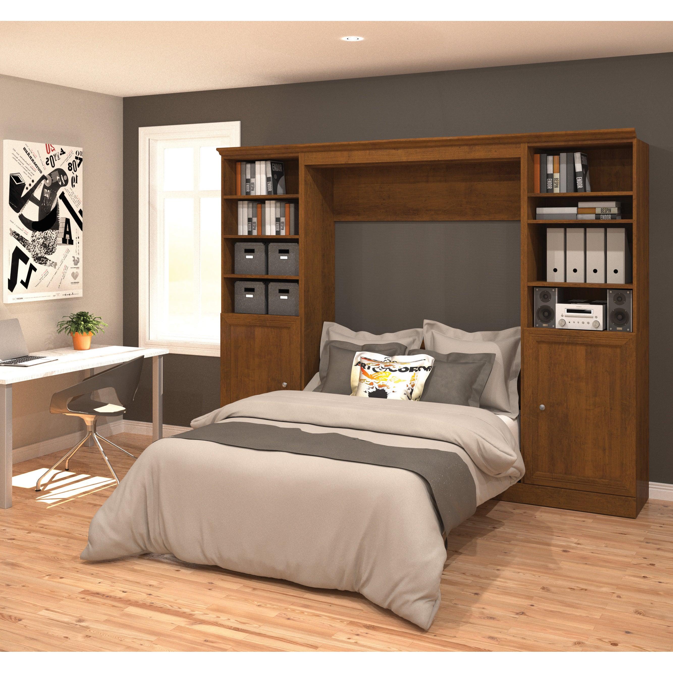 Versatile by Bestar 109-inch Full Wall Bed Kit (Brown - B...