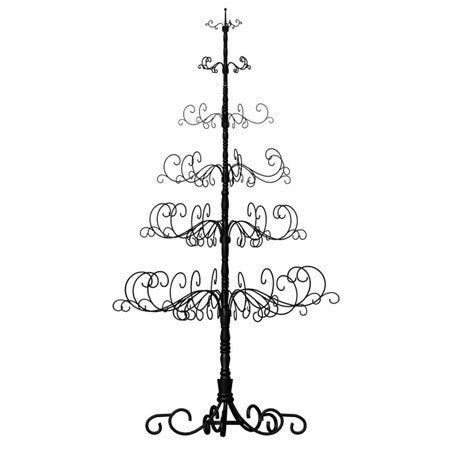 Patch Magic Wrought Iron 10-foot Black Christmas Tree (Bl...