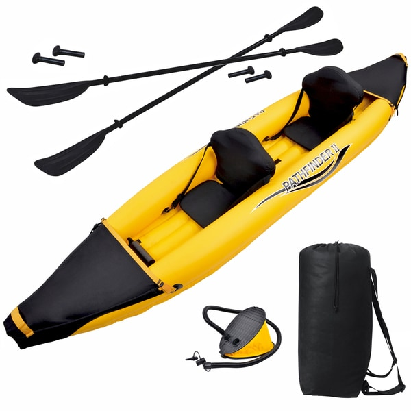 Blue Wave Sports Nomad 2-person 12-foot Inflatable Kayak