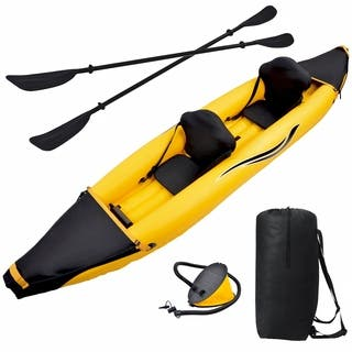 Blue Wave Sports Nomad 2-person 12-foot Inflatable Kayak|https://ak1.ostkcdn.com/images/products/9686735/P16865630.jpg?impolicy=medium