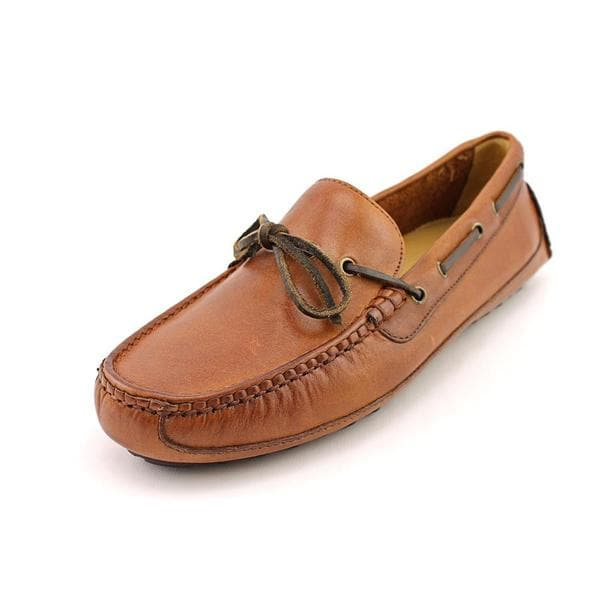 cole haan s grant canoe c moc leather dress shoes