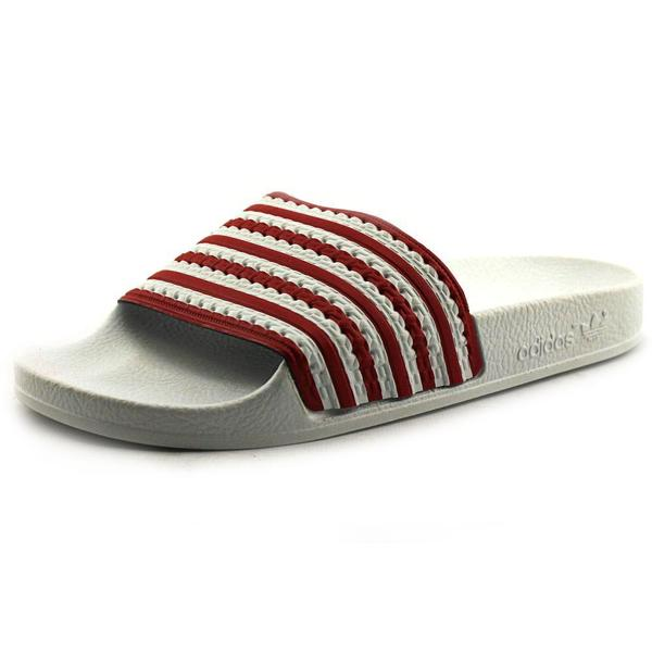 Shop Adidas Boy Youth Adilette Flags Synthetic Sandals