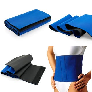 Gearonic Waist Trimmer Sweat Fat Cellulite Burner Exercise Wrap Belt|https://ak1.ostkcdn.com/images/products/9686946/P16865736.jpg?impolicy=medium