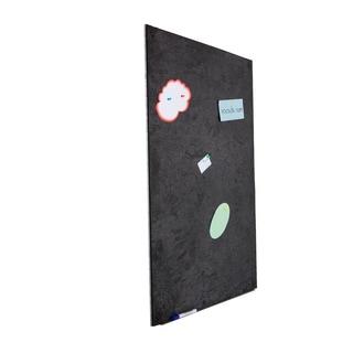 Board Dudes 12x12 Inch Black Wood Framed Cork Boards Case