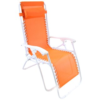 Jordan Manufacturing Zero Gravity Chair (Option: Orange)