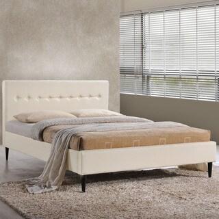 Modway Stacy Ivory Bed Frame