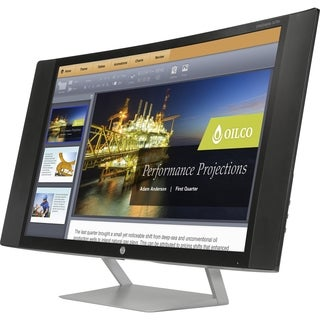 "HP Business S270c 27"" LED LCD Monitor - 16:9 - 8 ms"