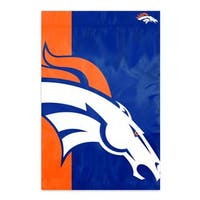Broncos 2'x3' Bold Logo Banner