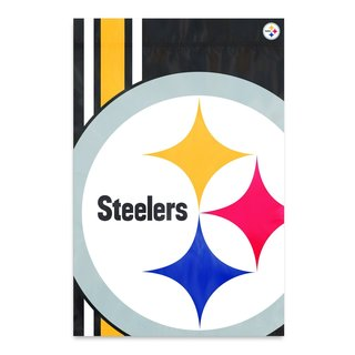 Steelers 2'x3' Bold Logo Banner