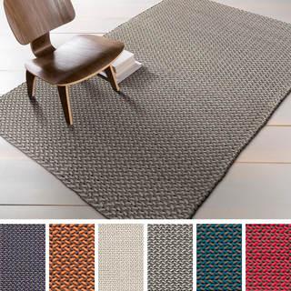 Hand-woven Marissa Casual Wool Rug (8' x 11')