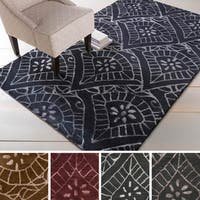 Hand-tufted Kerri Wool/Viscose Area Rug (8' x 11')
