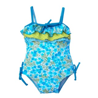 Azul Swimwear 'Ruffled Up' Infant One Piece