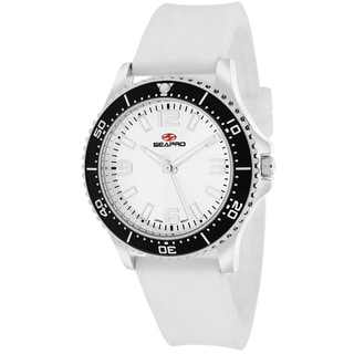 Seapro Women's SP5417 Tideway Round White Strap Watch