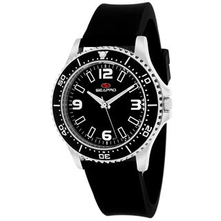 Seapro Women's SP5415 Tideway Round Black Strap Watch