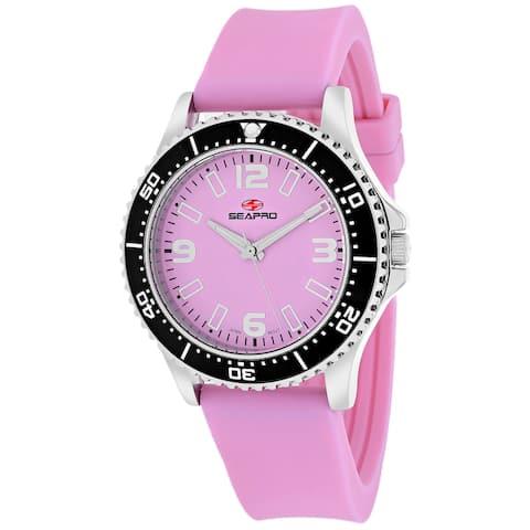 Seapro Women's SP5416 Tideway Round Pink Strap Watch