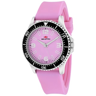 Seapro Women's SP5416 Tideway Round Pink Strap Watch