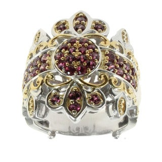 Michael Valitutti Siamese Ruby Ring