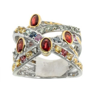 Michael Valitutti Multi Sapphire 'Bypass' Ring