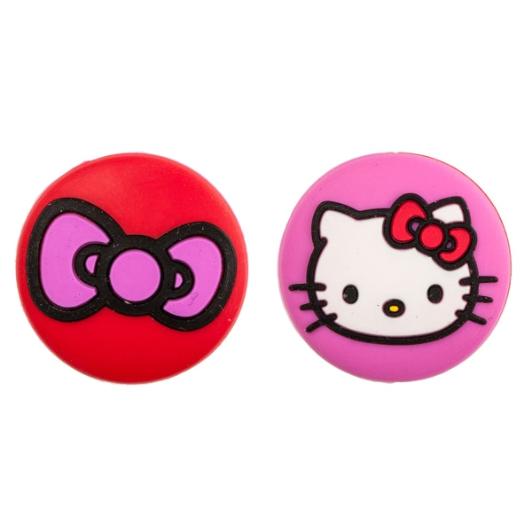 Hello Kitty Face and Bow Vibration Tennis Dampeners Two Pack