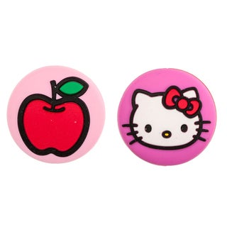 Hello Kitty Face and Apple Tennis Vibration Dampeners