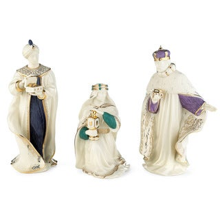 Lenox First Blessing Nativity 3 Kings Figurines