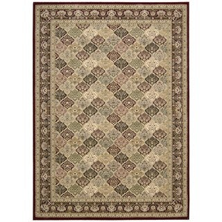 kathy ireland Antiquities Washington Square Multicolor Area Rug by Nourison (5'3 x 7'4)