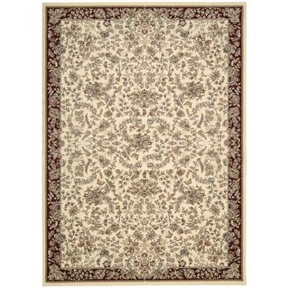 kathy ireland Antiquities Timeless Elegance Ivory Area Rug by Nourison (7'10 x 10'10)