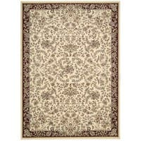 kathy ireland Antiquities Timeless Elegance Ivory Area Rug by Nourison