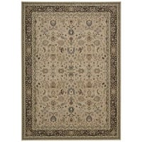kathy ireland Antiquities Royal Countryside Cream Area Rug by Nourison (9'10 x 13'2)