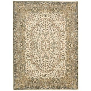 kathy ireland Antiquities Stately Empire Ivory Area Rug by Nourison (9'10 x 13'2)
