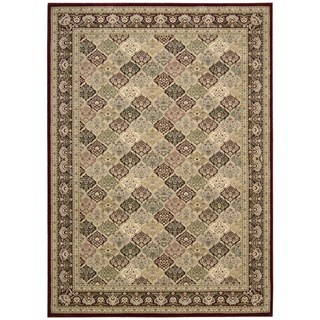 kathy ireland Antiquities Washington Square Multicolor Area Rug by Nourison (7'10 x 10'10)