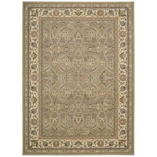 kathy ireland Antiquities American Jewel Cream Area Rug by Nourison (9'10 x 13'2)