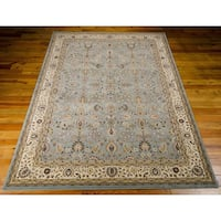 kathy ireland Antiquities Royal Countryside Slate Blue Area Rug by Nourison (7'10 x 10'10)